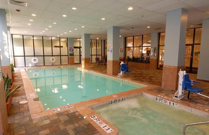 Indoor pool at Embassy Suites Dallas - Love Field.