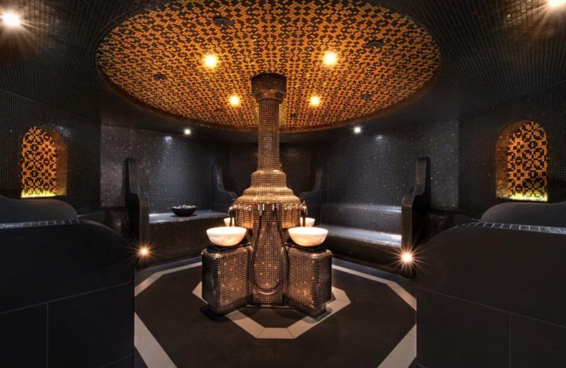 The spa at Steigenberger Frankfurter Hof.