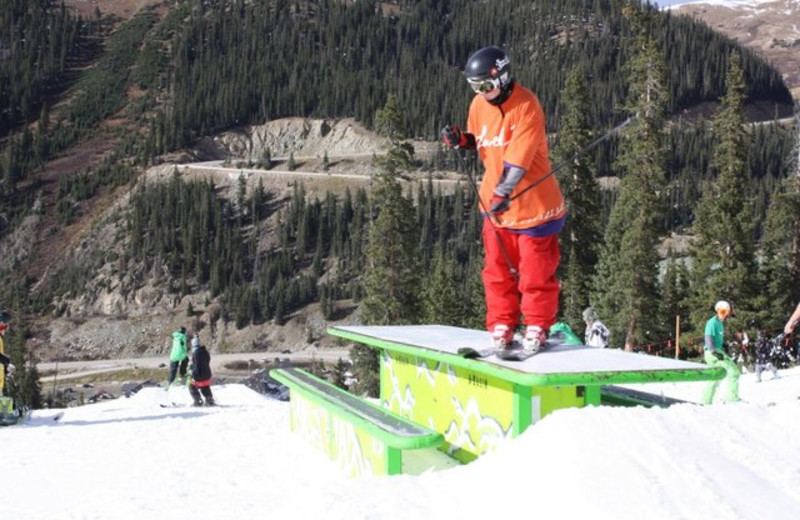 Skiing at Pine Ridge Condominiums.