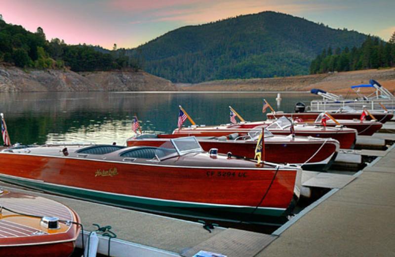 Docks at Tsasdi Resort.