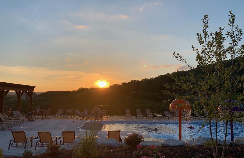 Pool at Amazing Branson Cabin Rentals - RentBranson.