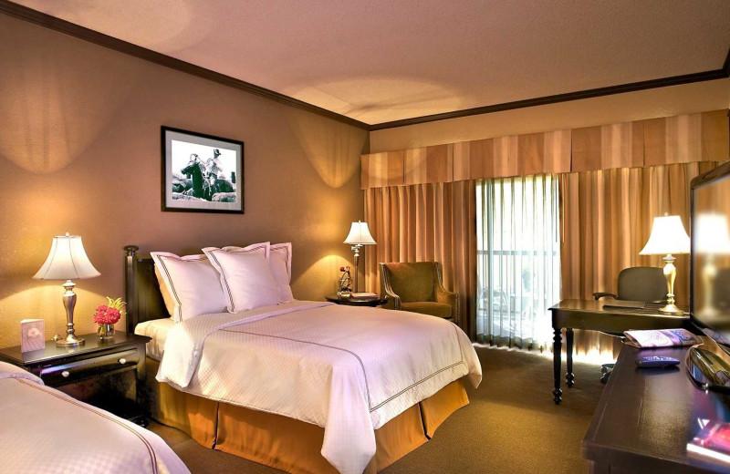 Guest room at Carefree Resort & Villas.