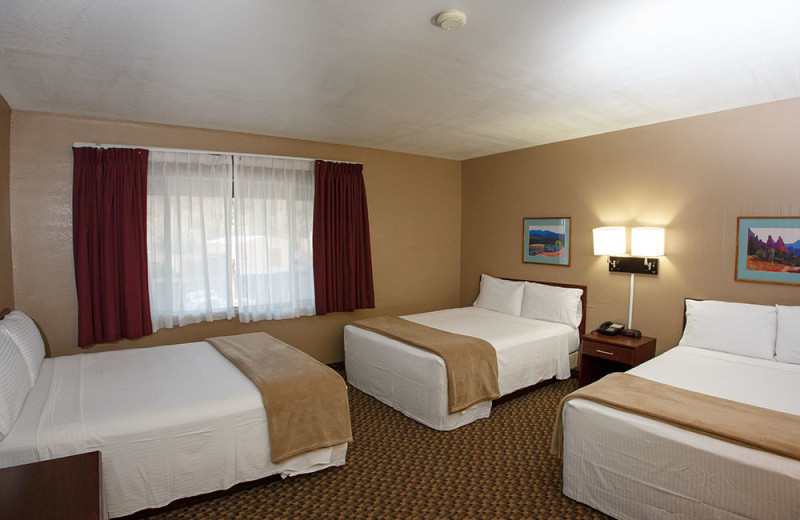 Guest bedroom at Havasu Springs Resort.