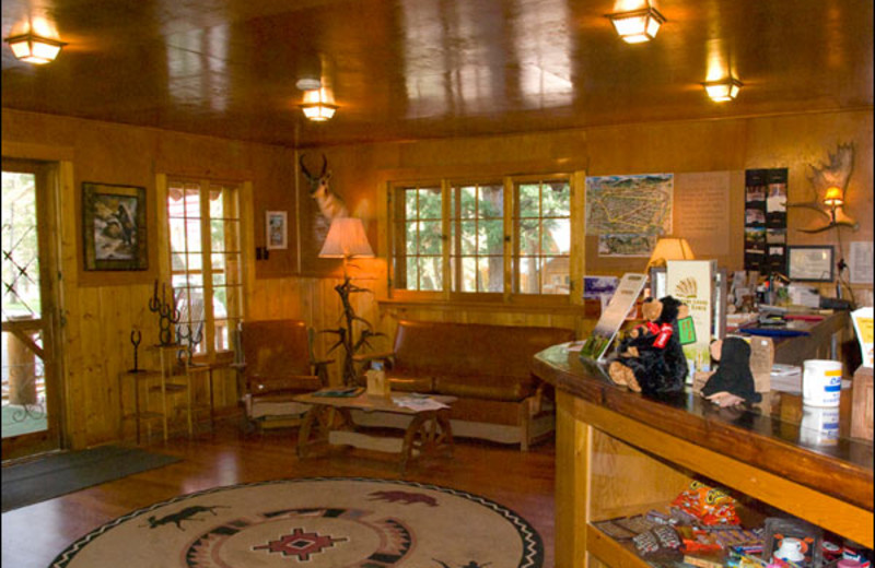 Check-In at Shoshone Lodge & Guest Ranch.