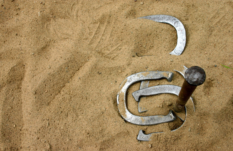 Horseshoes at Westgate Branson Woods Resort.