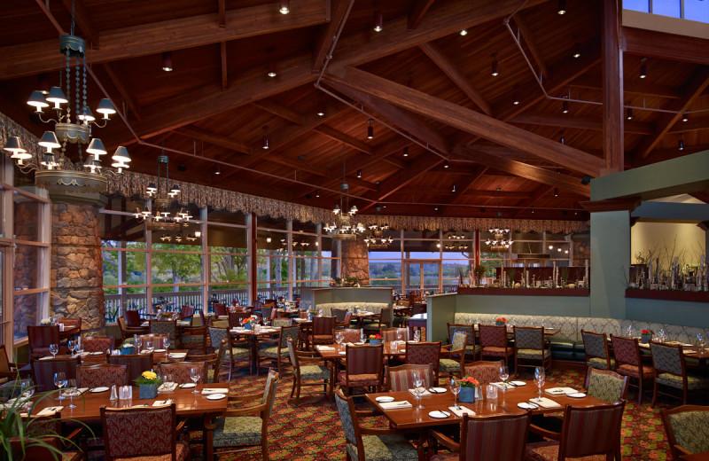 Dining at Deerhurst Resort.