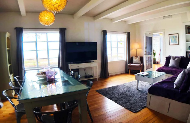 Rental interior at Sunset Beach Resort.