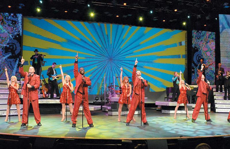 Concert near Caribbean Resort & Villas.