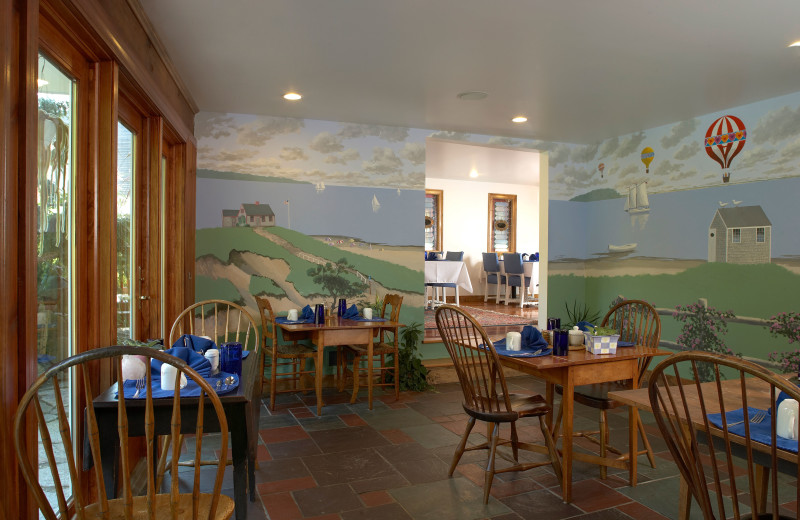 Dining room at Pleasant Bay Village.