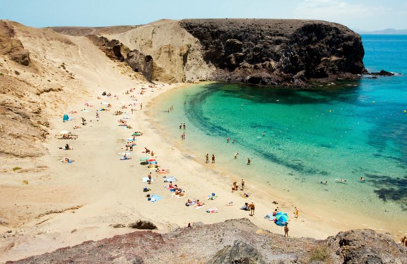 Beach near Playa Blanca.