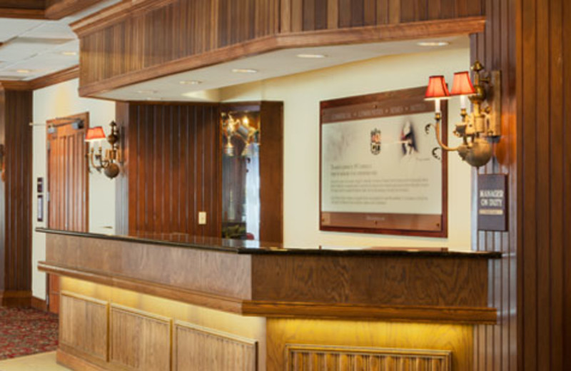 Front Desk at DoubleTree by Hilton Asheville