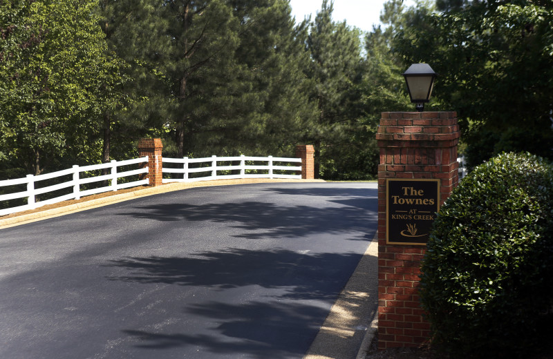 Welcome to King's Creek Plantation.