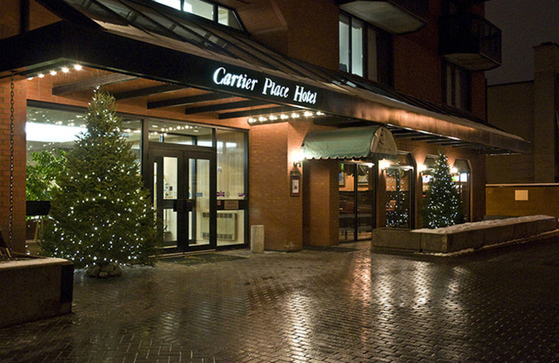 Exterior view of Cartier Place Suite Hotel.