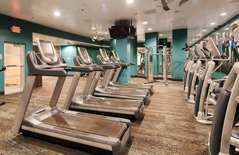 Fitness room at Grand Sierra Resort and Casino.