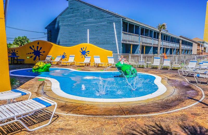 Kiddie pool at Splash Resort.
