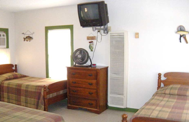 Cottage Interior at The Edgewater Waterfront Cottages