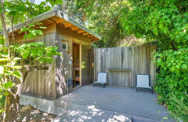 Rental sauna at Woodfield Properties.