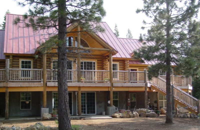 Exterior view of Christmas Tree Vineyard Lodge.