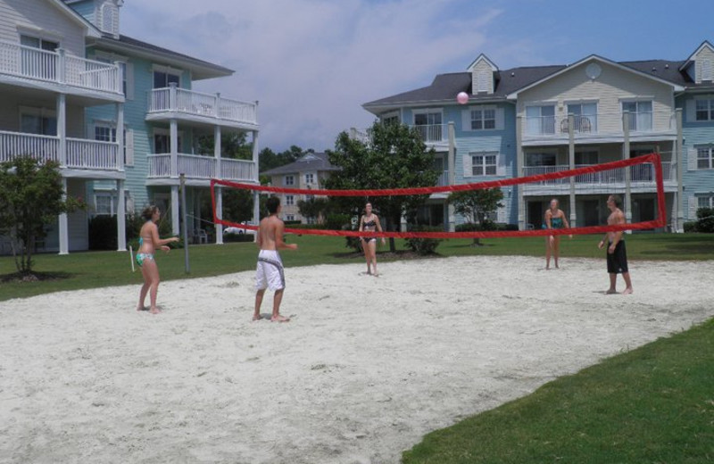 Outdoor activities at Brunswick Plantation Resort.
