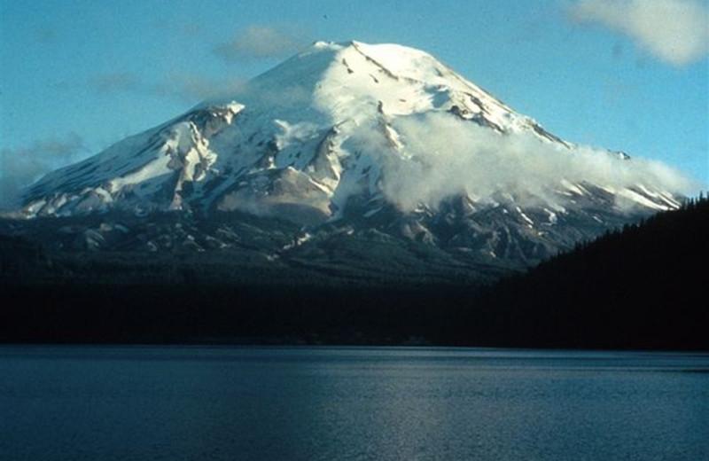 Mount St Helen's at The Heathman Lodge.