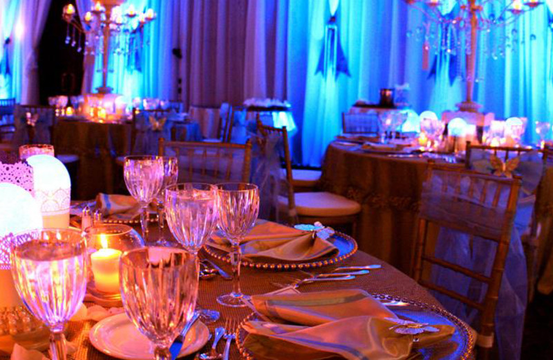 Wedding reception at Fairmont Tremblant Resort.