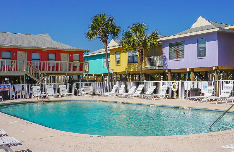 Pool at Paradise Isle Resort.