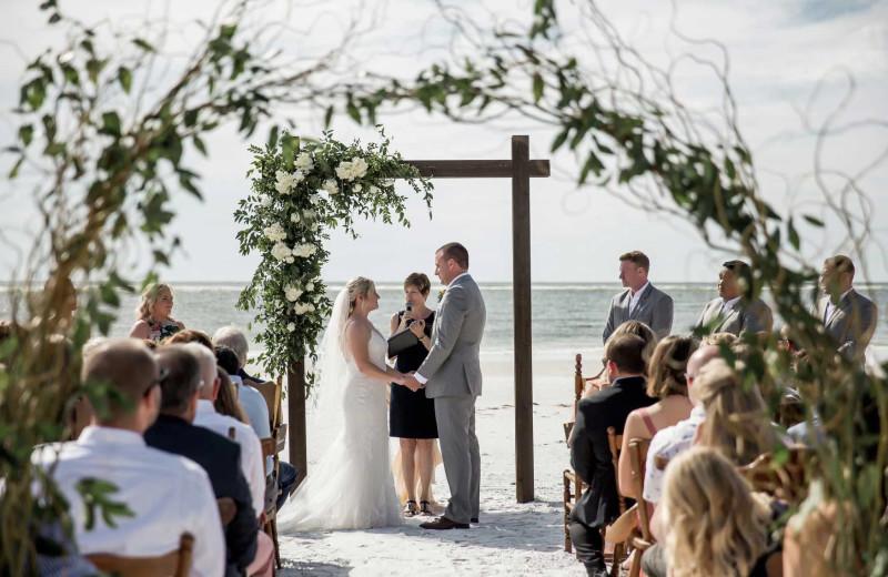 Weddings at Sunset Beach Resort.