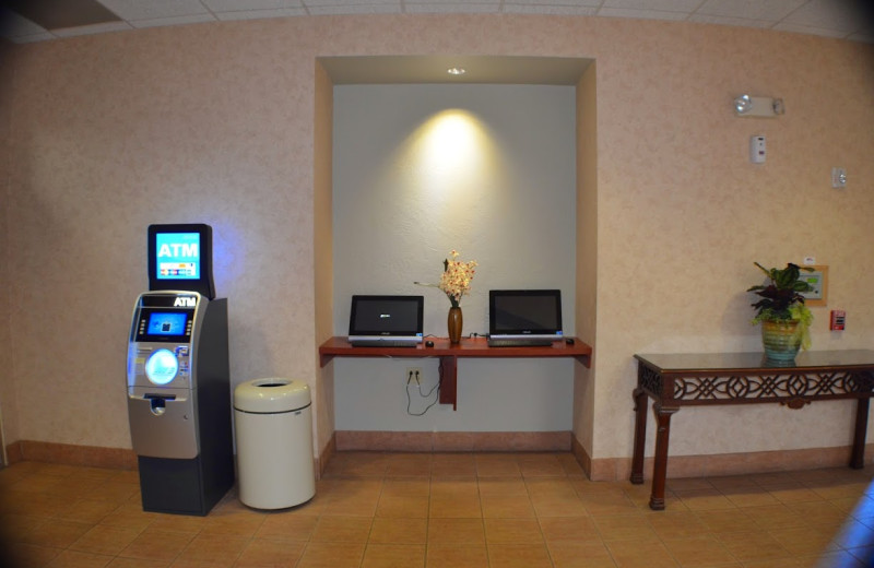 Business center at Ambers Resort and Conference Center.
