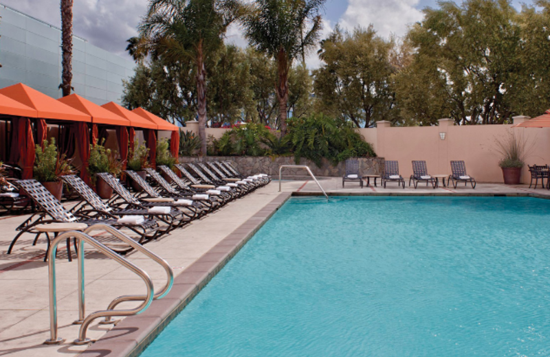 Outdoor Swimming Pool at Hyatt Regency Santa Clara