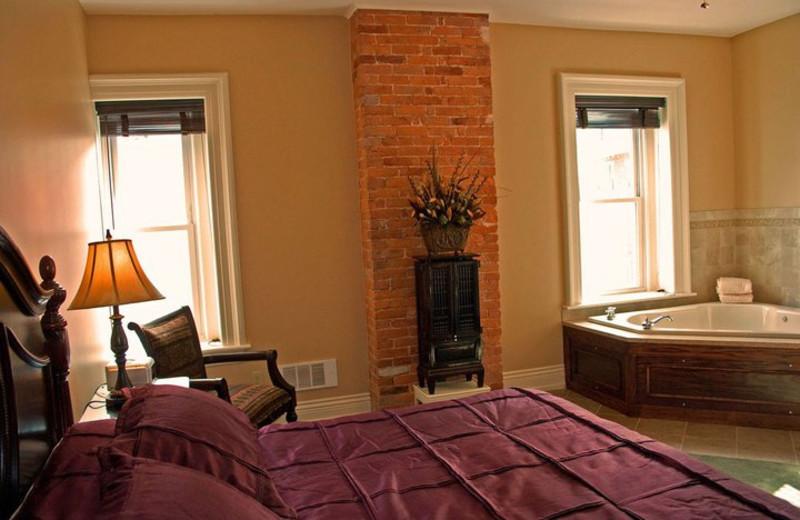 Guest Room at The Inn at Jim Thorpe