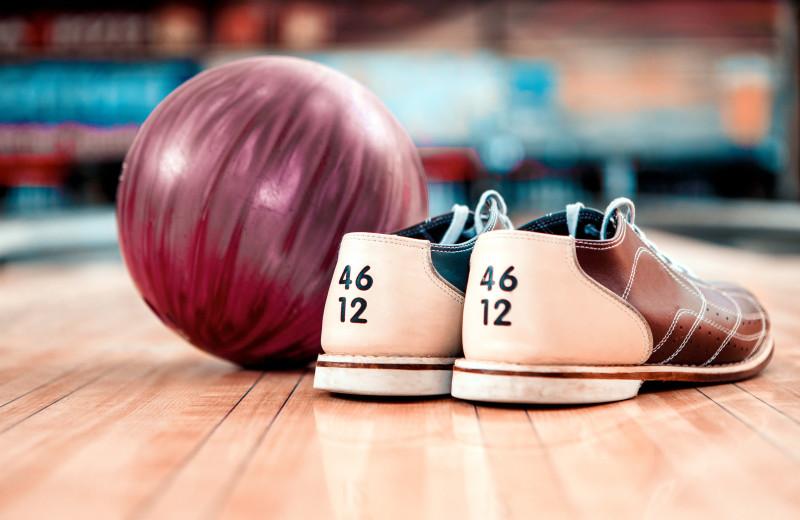 Bowling near Driftwood Resort.