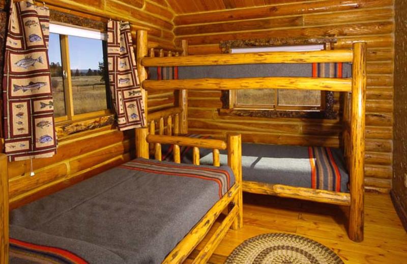 Bedroom at Bar N Ranch.