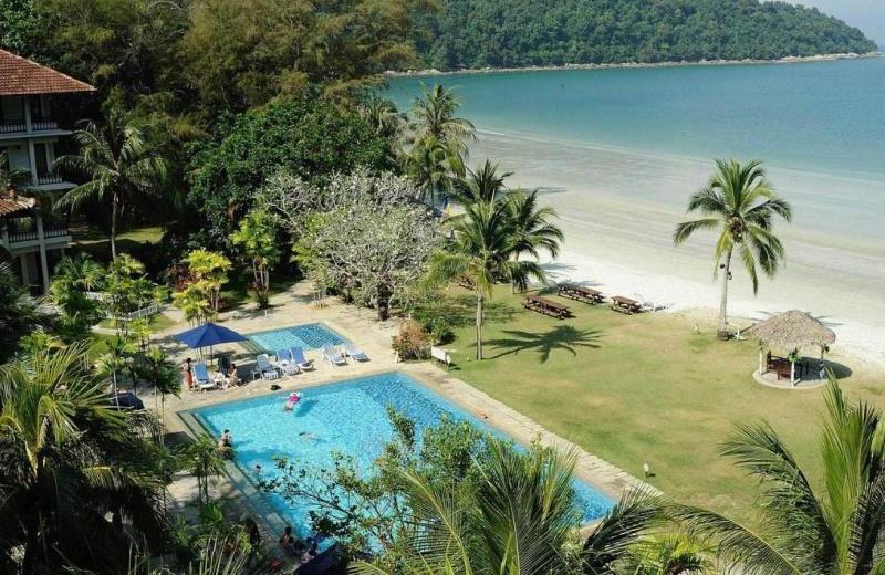 Exterior view of Pangkor Island Beach Resort.