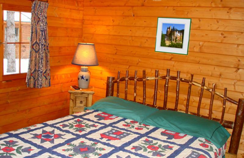Cabin Bedoom at Mallard's Landing