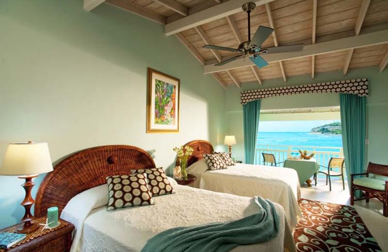 Guest room at Allegro Resort Pineapple Beach.
