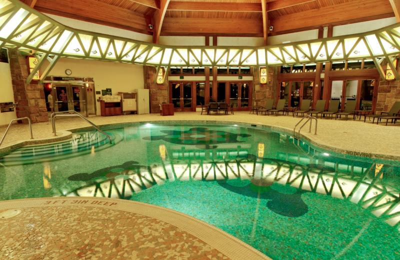 Indoor pool at Soaring Eagle Casino & Resort.