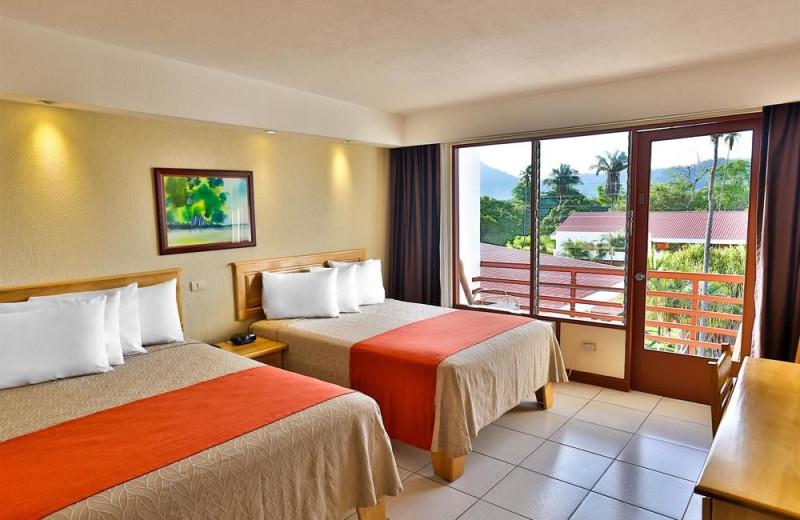 Guest room at Jaco Beach Resort.