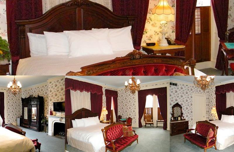 Catherine Batcheller room at Batcheller Mansion Inn Bed and Breakfast.