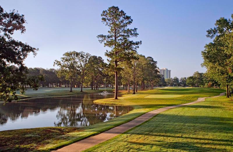 Golf course at La Torretta Lake Resort & Spa.