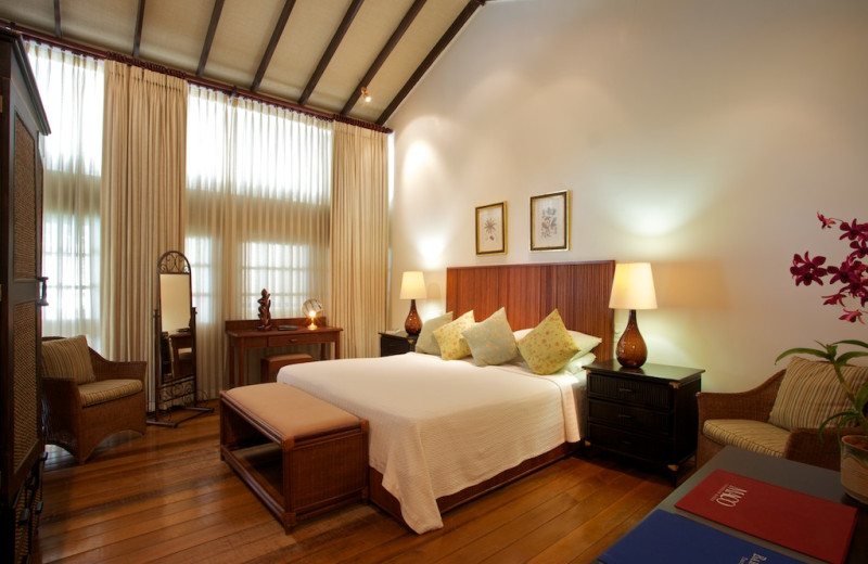 Guest room at Treasure Beach.