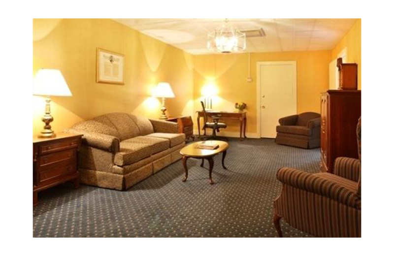 Guest suite at Eisenhower Hotel & Conference Center.