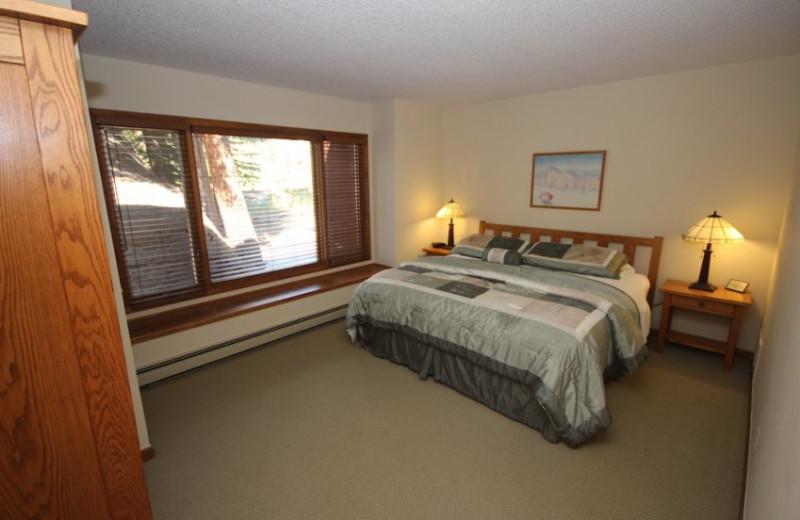Cabin Bedroom at Boulder Brook on Fall River