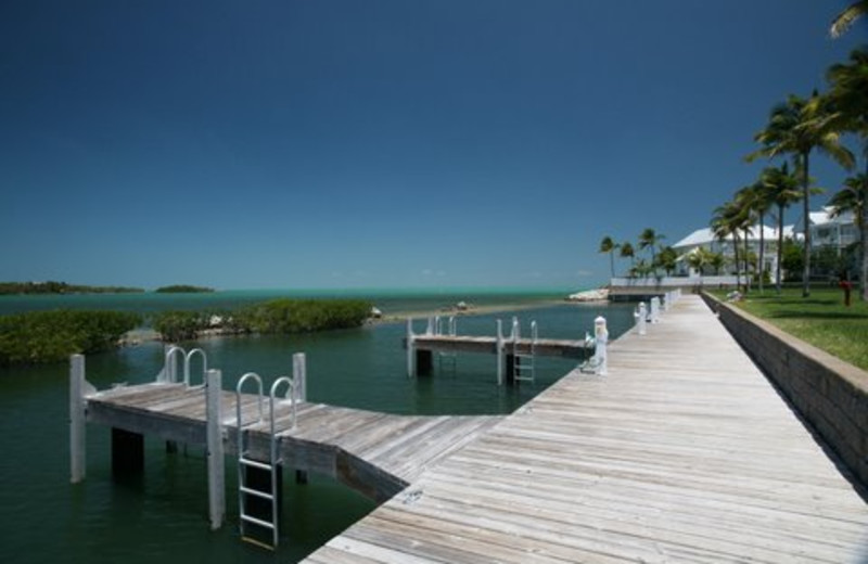 Dock Near KeysCaribbean