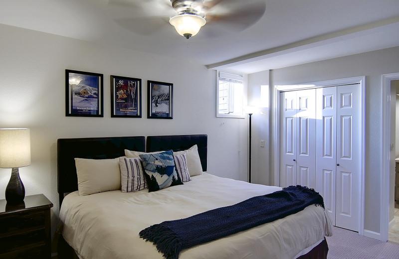 Guest bedroom at Bella Vista Estate.