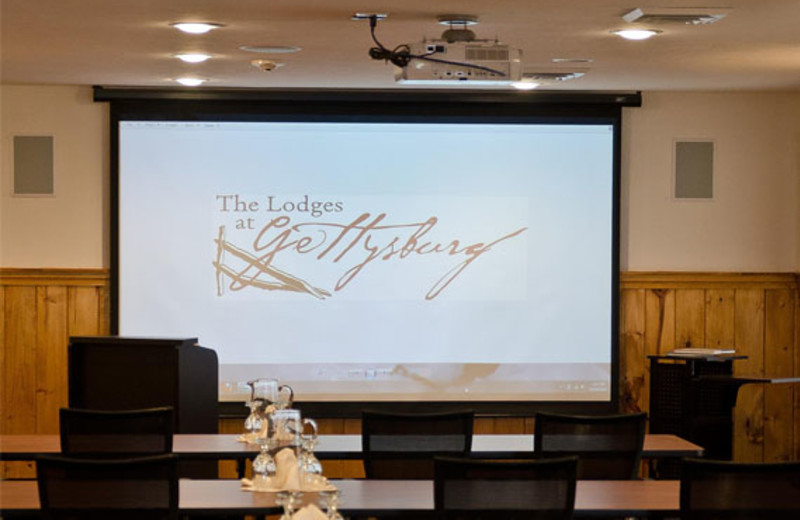 Conference room at The Lodges at Gettysburg.