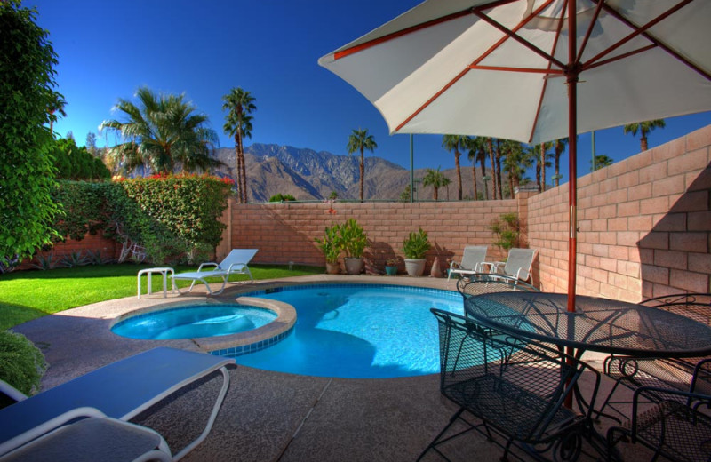 Rental pool at Sundance Villas.