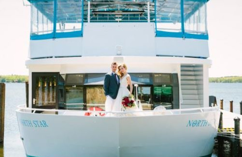 Wedding on a Gull Lake Cruise