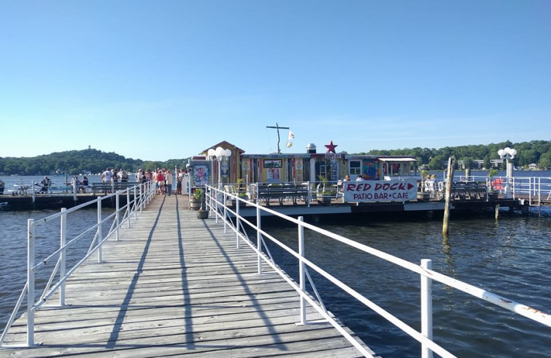 Enjoy meals at several nearby restaurants on the water in Saugatuck, South Haven, and Holland, Michigan.