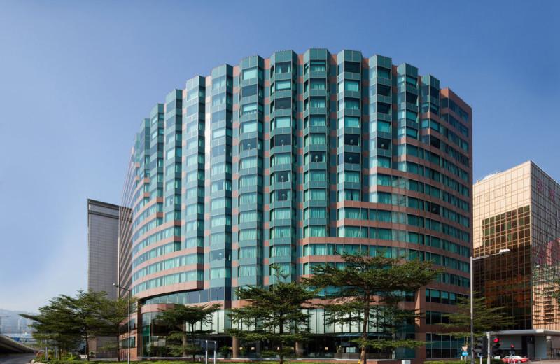 Exterior view of New World Millennium Hong Kong Hotel.