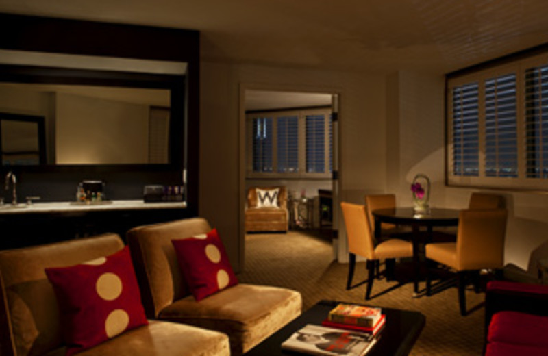 Interior Suite at W New Orleans